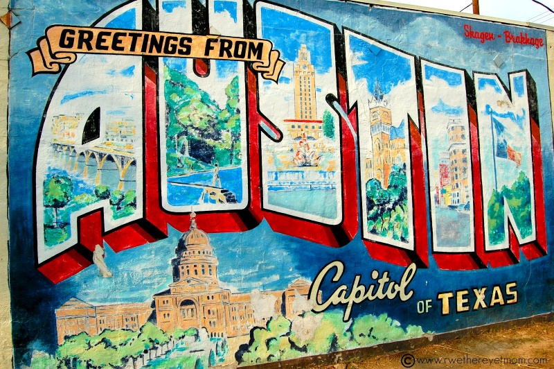 "Austin Texas: Capitol City Streets ""Top 4"""