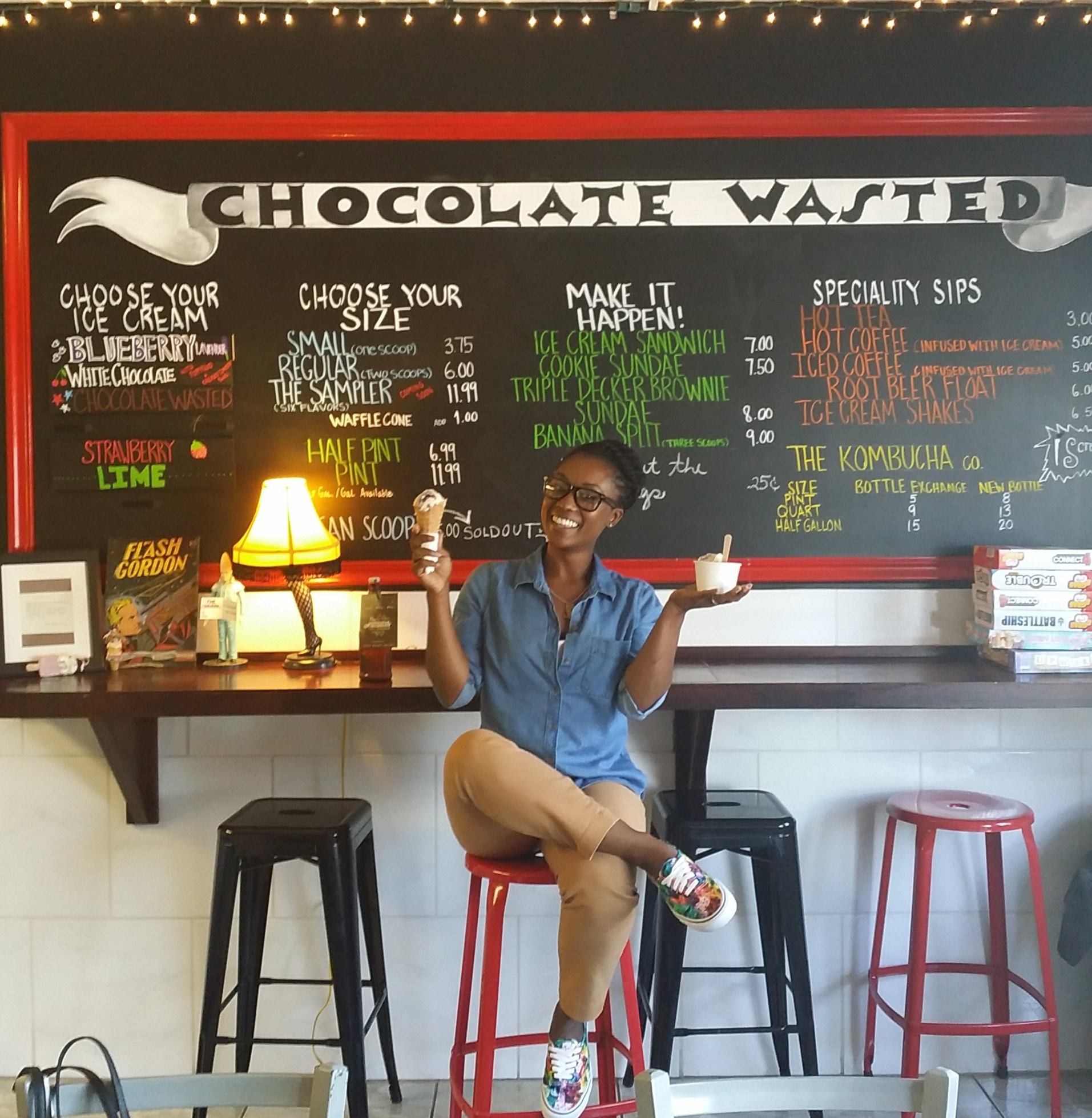 "Get ""Chocolate Wasted"" with handcrafted artisan ice cream & paleta"