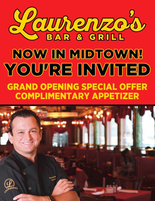 First Look – Laurenzo's Bar & Grill + GIVEAWAY