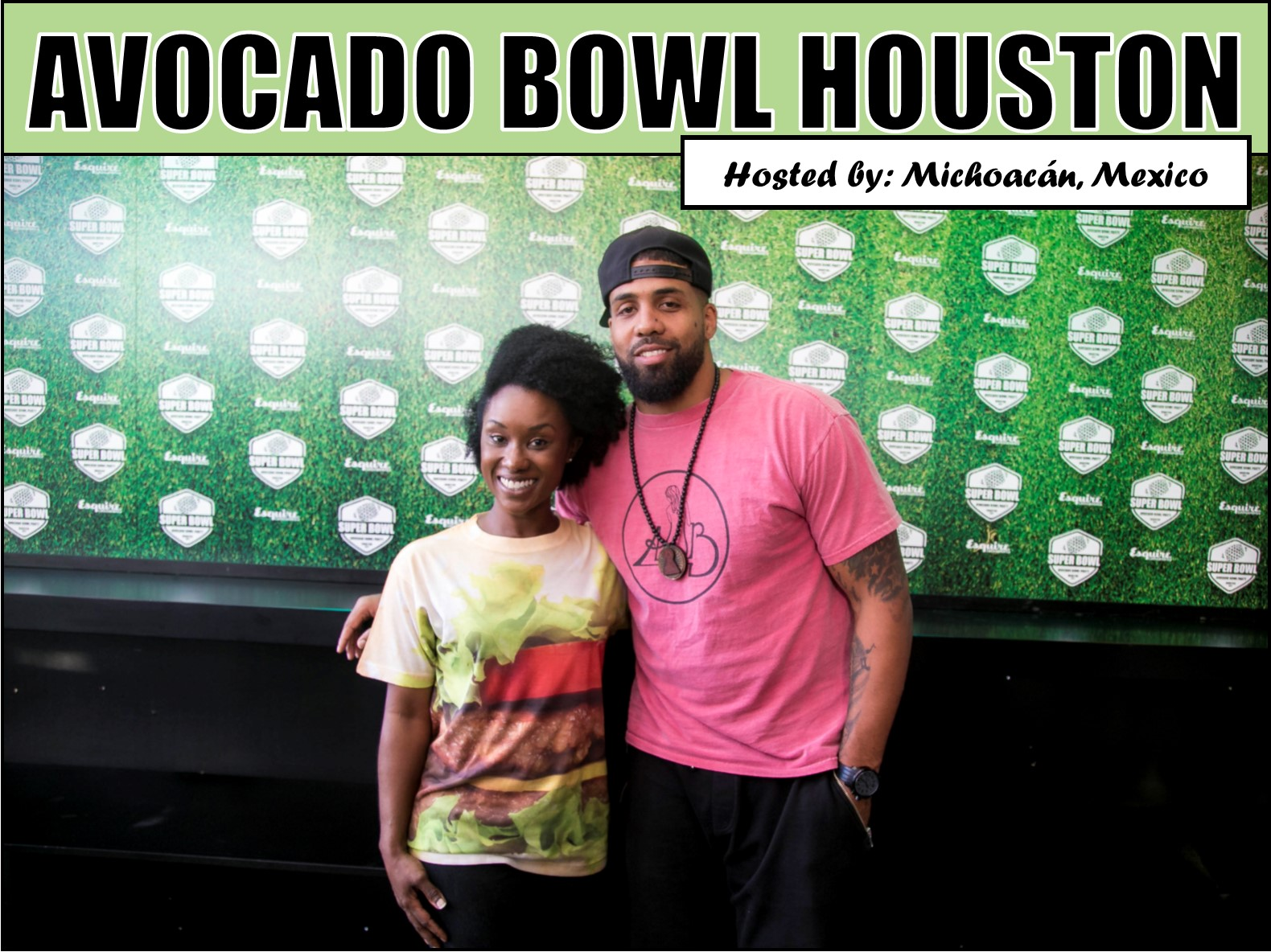 Avocado Bowl + NFL Superstar Arian Foster