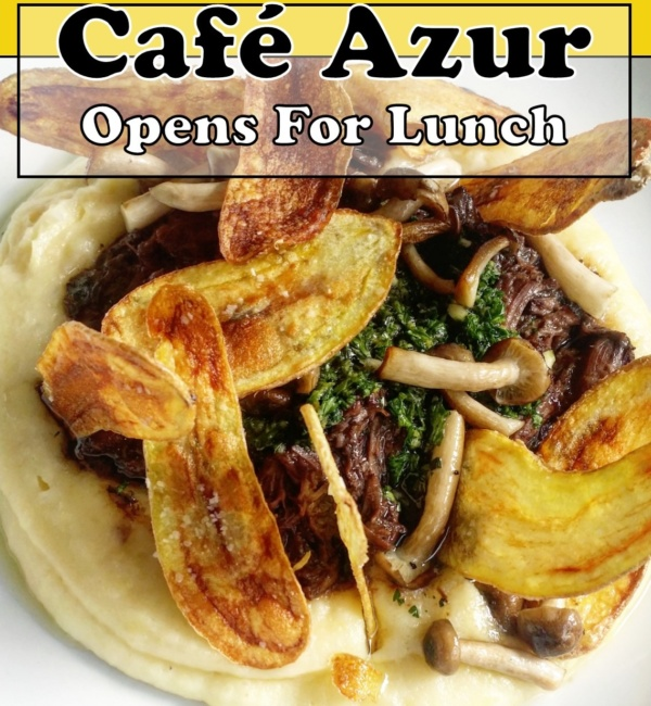 Cafe Azur | Lunch with French Riviera Flare