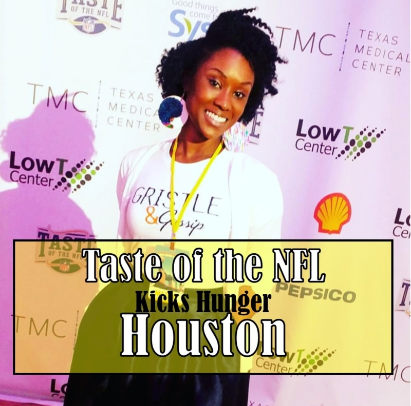 Taste of the NFL Kicks Hunger in Houston