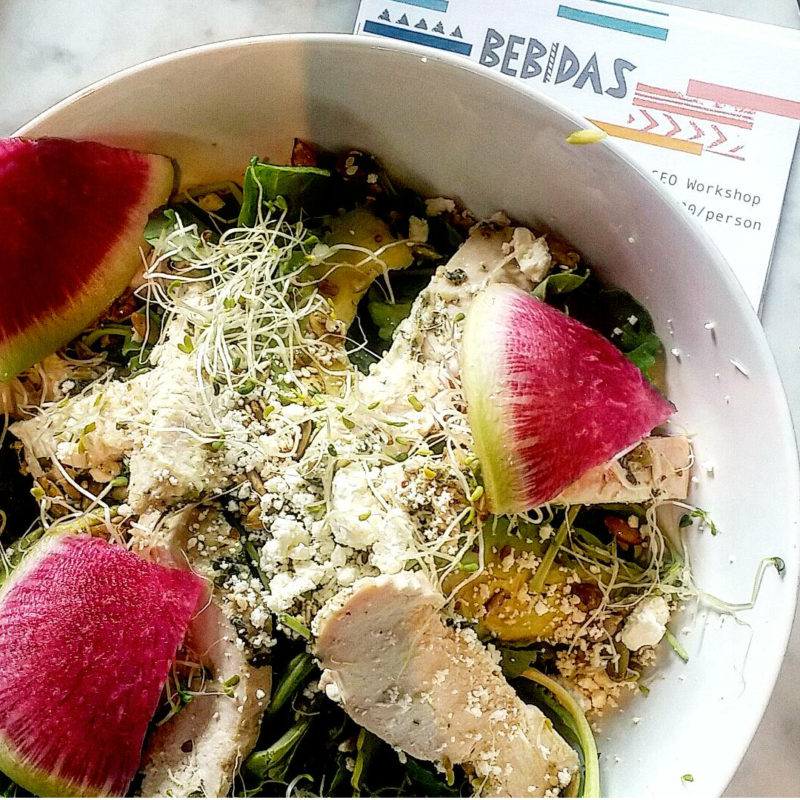 Bebidas: Healthy Eats in River Oaks