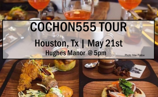 HOUSTON CHEFS | HERITAGE BREED PIGS | COCHON555