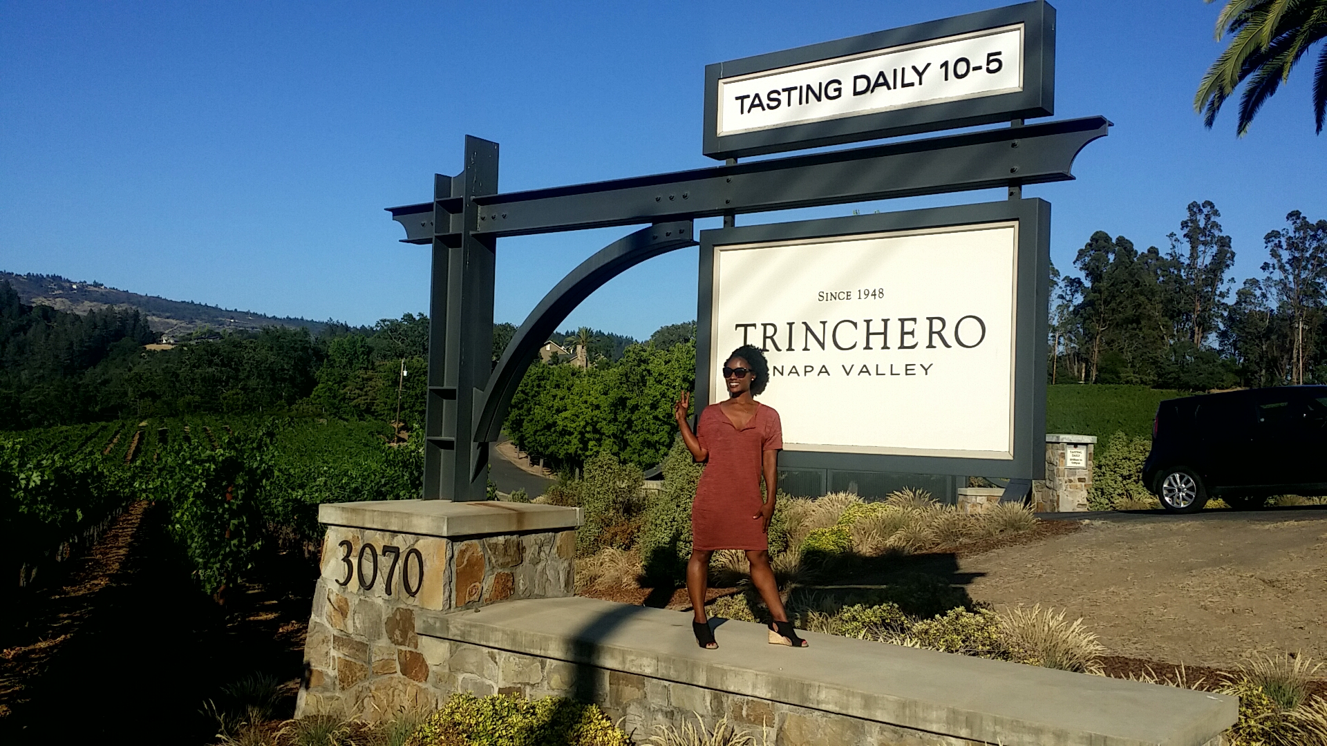 48 Hours in Napa | Tinchero Estates | Farmstead | Tank Garage Winery