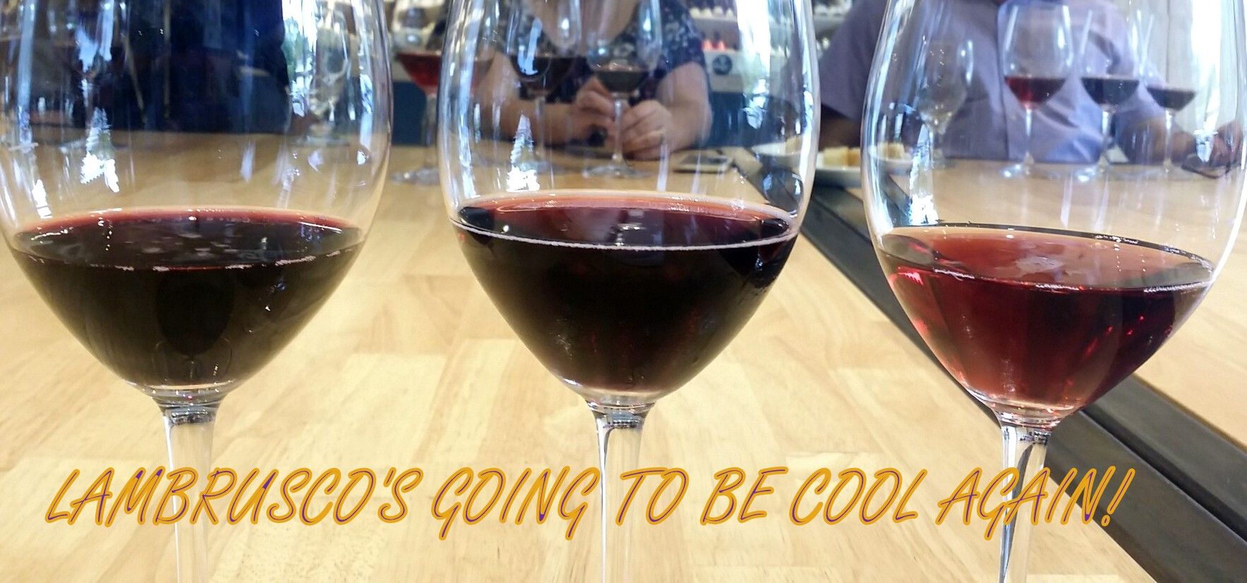 Lambrusco: The Coca-Cola of Wine Makes A Comeback