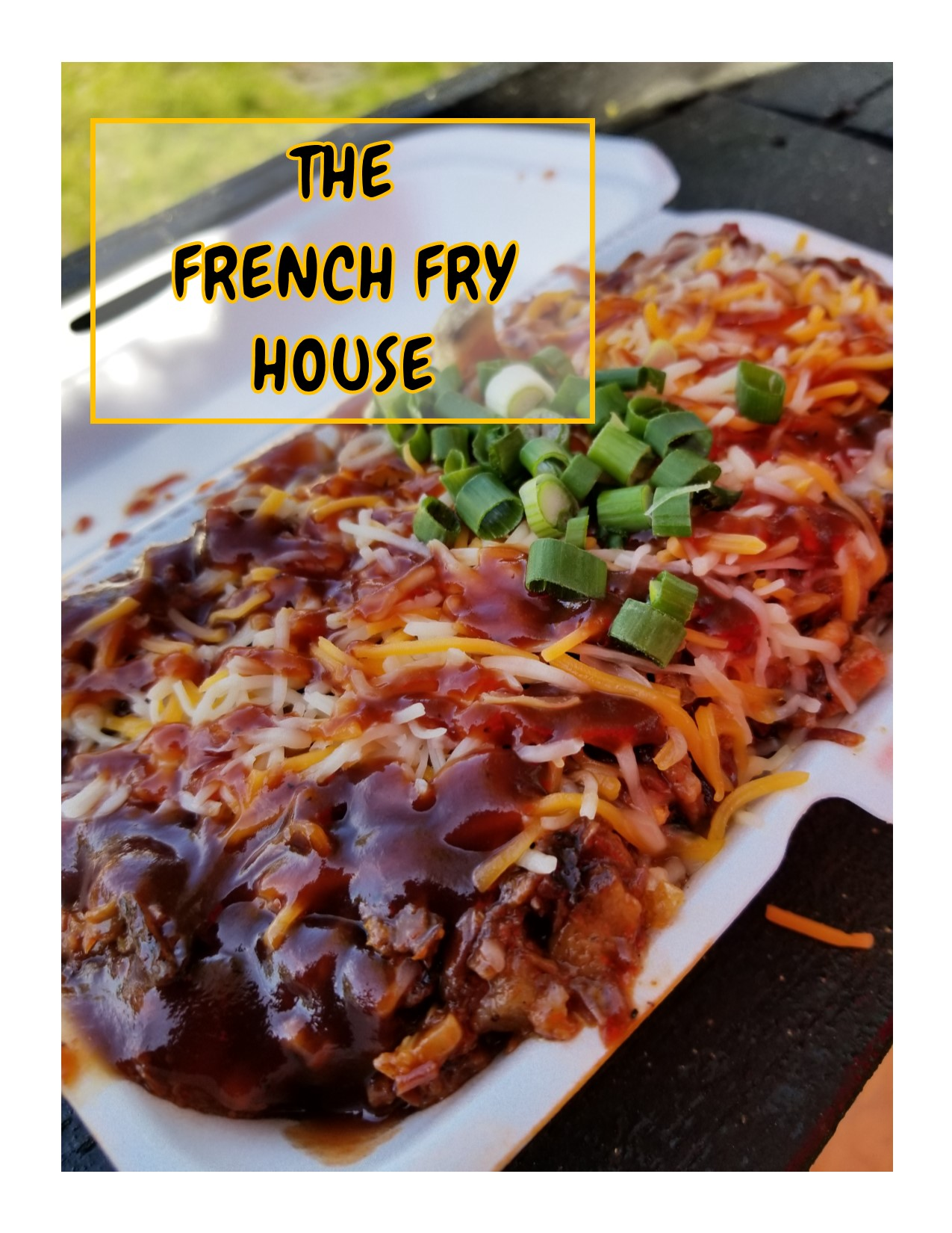 Loaded French Fries & Boudain Egg Rolls | The French Fry House | Houston
