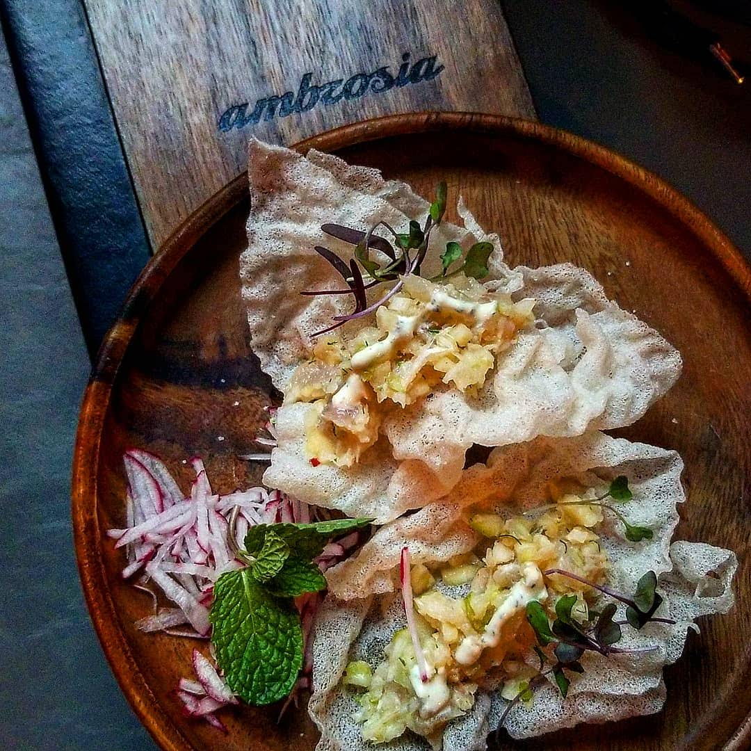 Happy Hour at Ambrosia Houston | Asian Inspired Small Plates & Entrees