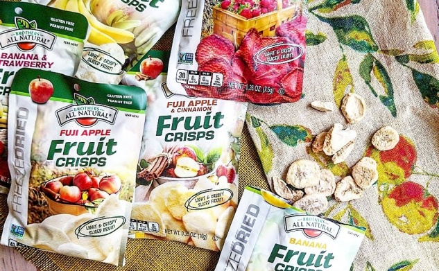 On-the-Go Snacks for Babies | Brothers All-Natural Freeze Dried Fruit Crisps