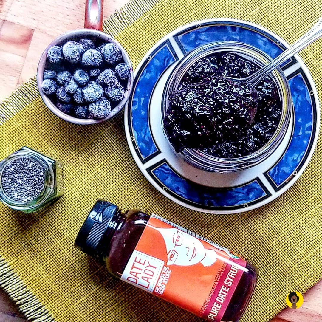 Blueberry-Maple Chia Seed Jam – Baby Food | Motherhood | TastyBits