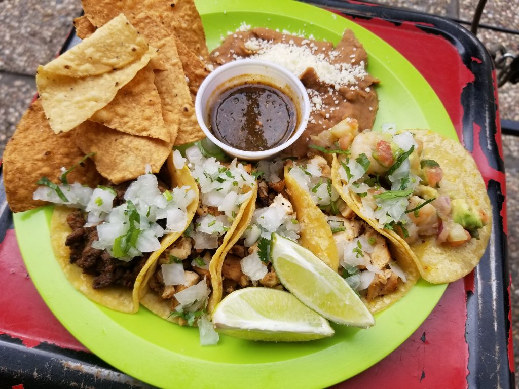 Tacos in Downtown Houston