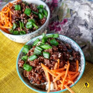 Korean BBQ Beef Bowl