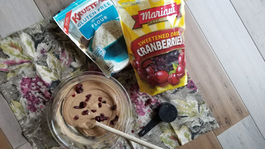 Vegan Cranberry Muffins Recipe - Ingredients