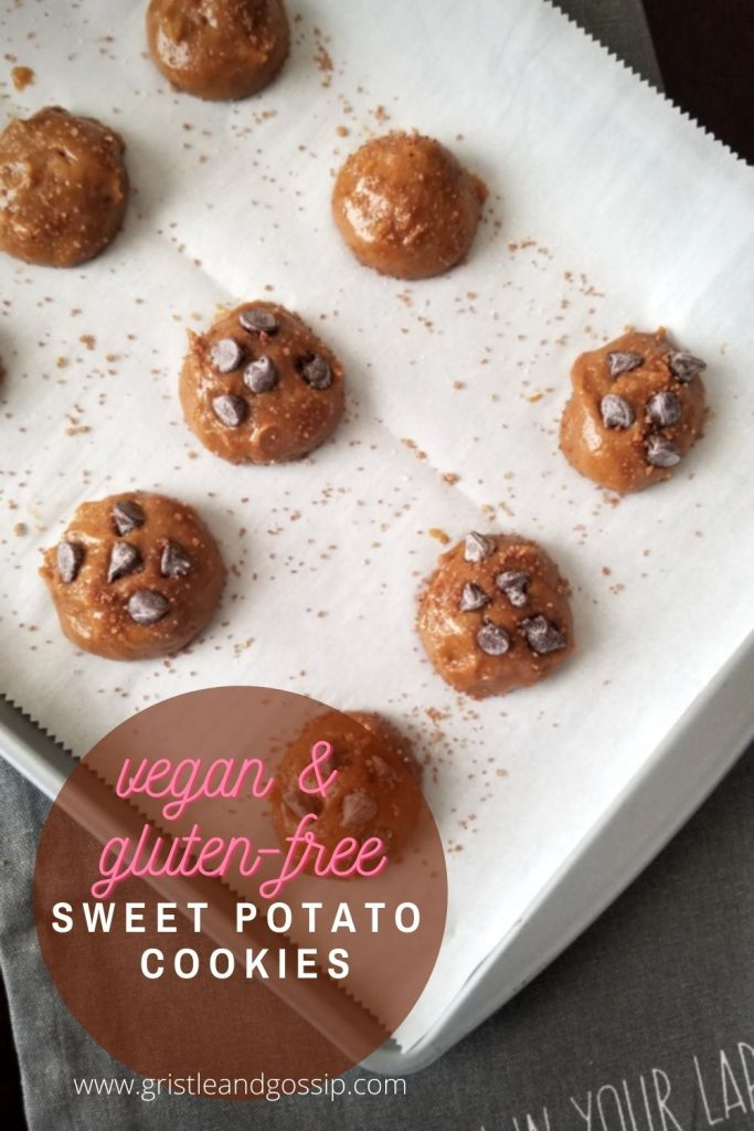 Vegan Sweet Potato Cookies