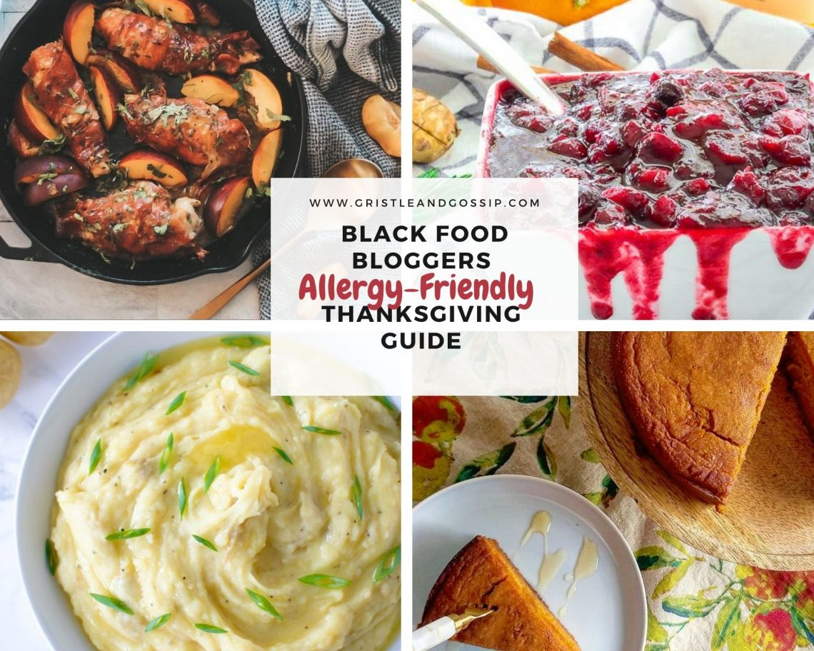 Black Food Bloggers Guide to an Allergy-Friendly Thankgiving