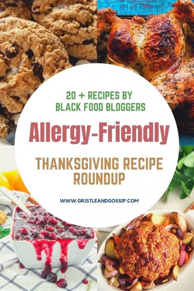 Black Food Bloggers Guide to an Allergy-Friendly Thanksgiving