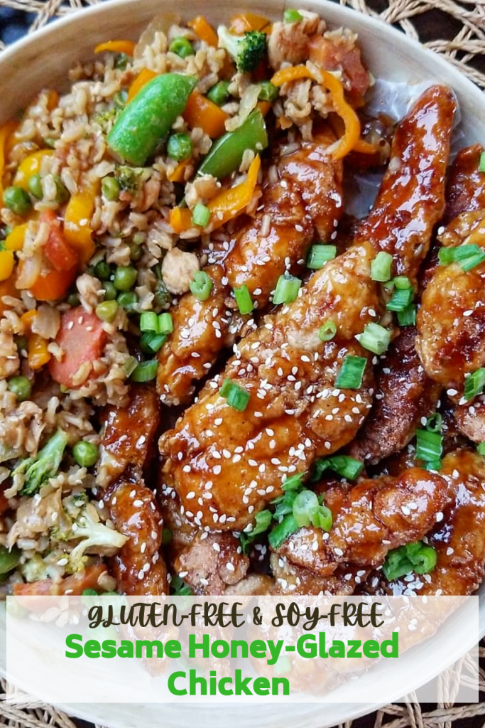 Crispy Gluten Free Sesame Honey Glazed Chicken (2)