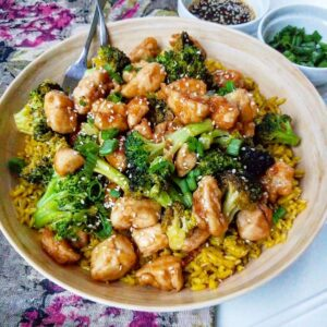 Gluten-Free Sesame Chicken and Broccoli (3)