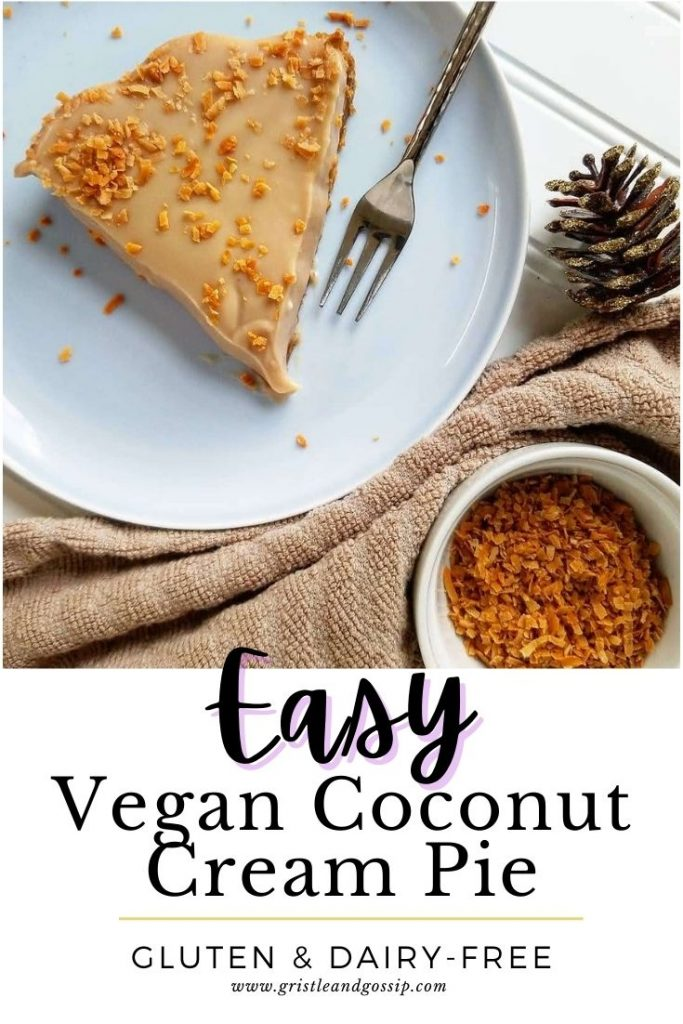 Easy Vegan Coconut Cream Pie