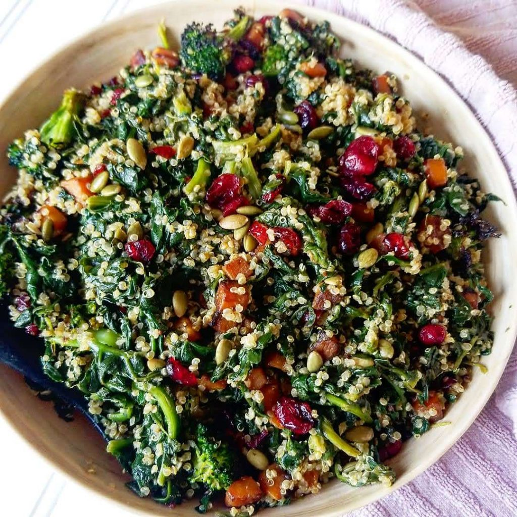 Easy Sauteed Spinach and Butternut Squash